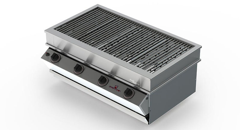 Chad-O-Chef - 4 Burner Hybrid Braai