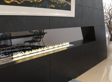 The Flue-less Drop-In & Flameline Fireplaces