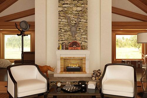 Universal Grate Fireplace (VFG-1000)