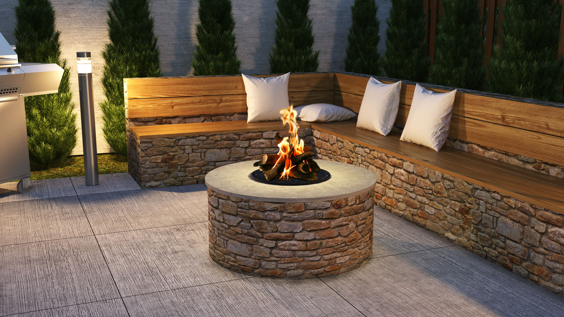 Chad-O-Chef Outdoor Firepit burner