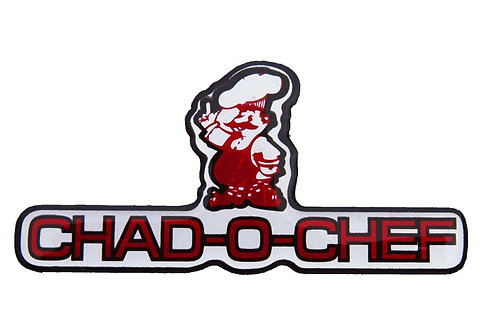 Decal - Chad-O-Chef (Silicone Domed)