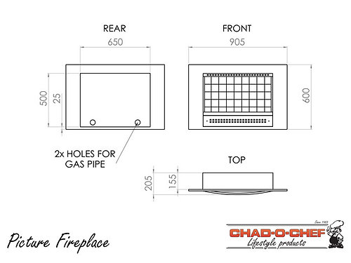 Picture Fireplace (VFP-700)