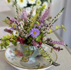 Mini Egg Cup Floral Art