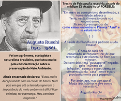 Augusto Ruschi (1915 - 1986)