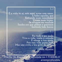 Psicografia NINA ARUEIRA