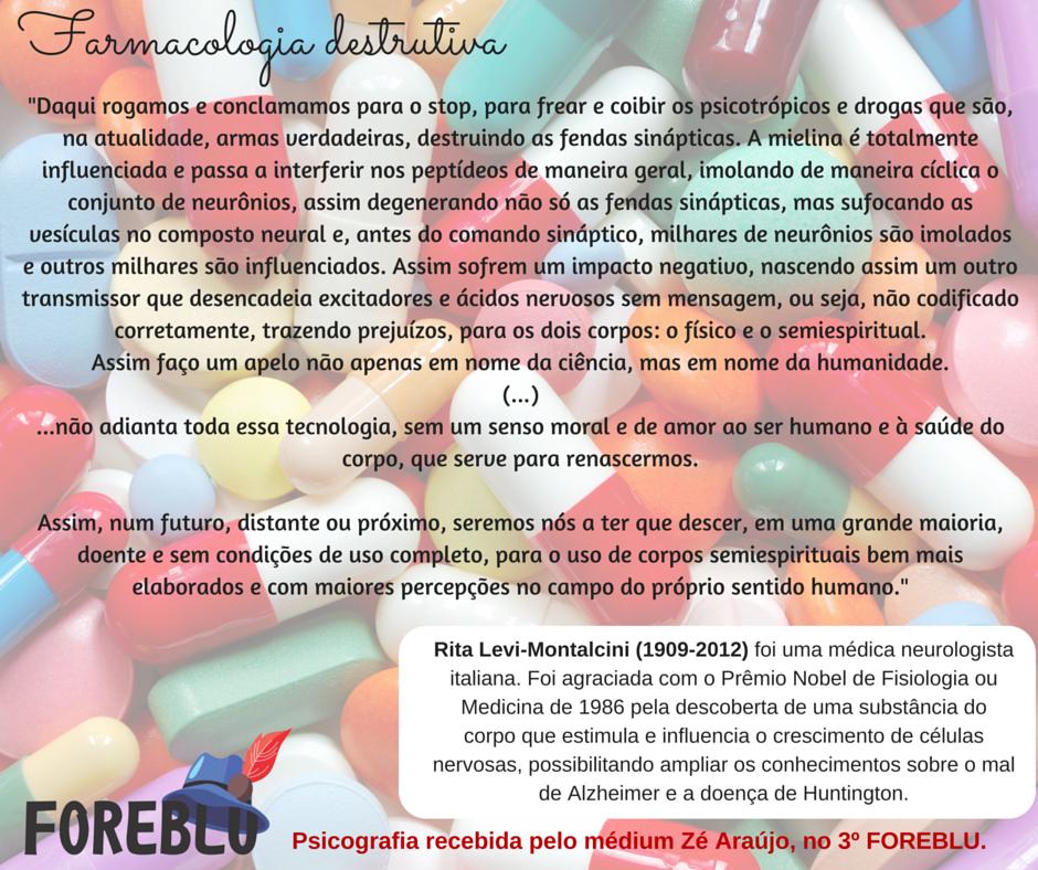 Farmacologia destrutiva - Rita Levi-Montacini