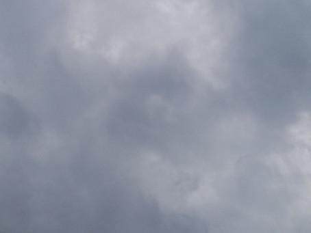 台風が近づいてきました