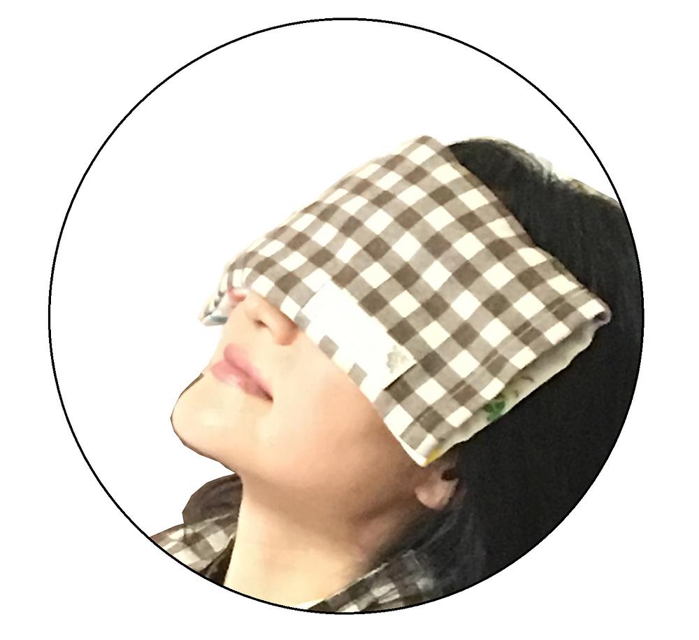 疲れ目にホットアイマスク