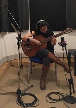 Recording at U2 Studio