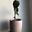 "Thumbnail: Philodendron Melanochrysum in 5"" concrete planter"