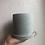 "Thumbnail: 4.5"" concrete planter with saucer"