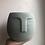 """Thumbnail: 5.5"""" Concrete face planter"""