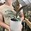 "Thumbnail: Ficus Tineke in 6"" concrete planter"