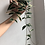 "Thumbnail: Extra long and full Hoya Krimson queen in 6"" round ceramic planter"