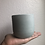 "Thumbnail: 3.5"" Tulip concrete planter"