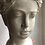 "Thumbnail: Small 8"" tall Goddess concrete planter"