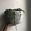 """Thumbnail: String of pearls in 6"""" concrete tribal pot"""