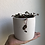 """Thumbnail: String of hearts in 4"""" concrete planter"""