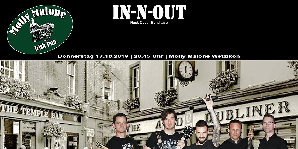 IN-N-OUT live im Molly Malone Irish Pub Wetzikon