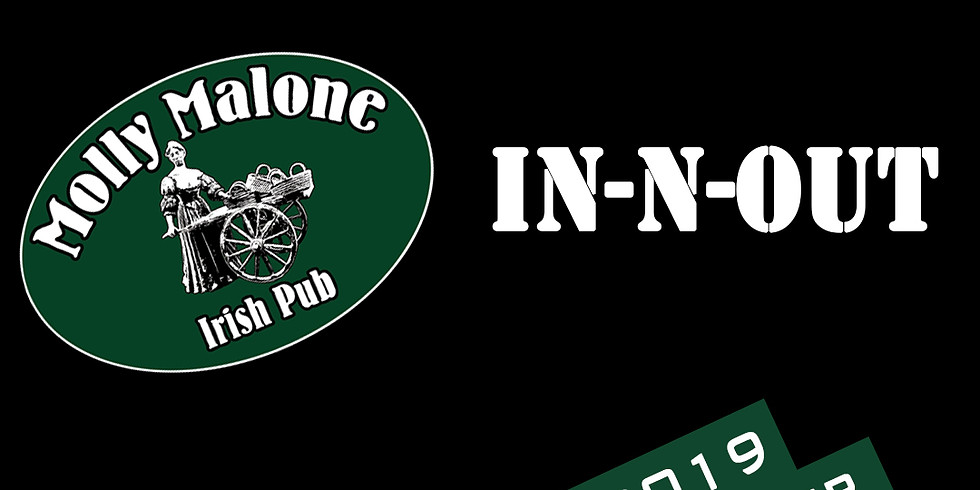 IN-N-OUT live im Molly Malone Irish Pub Winterthur