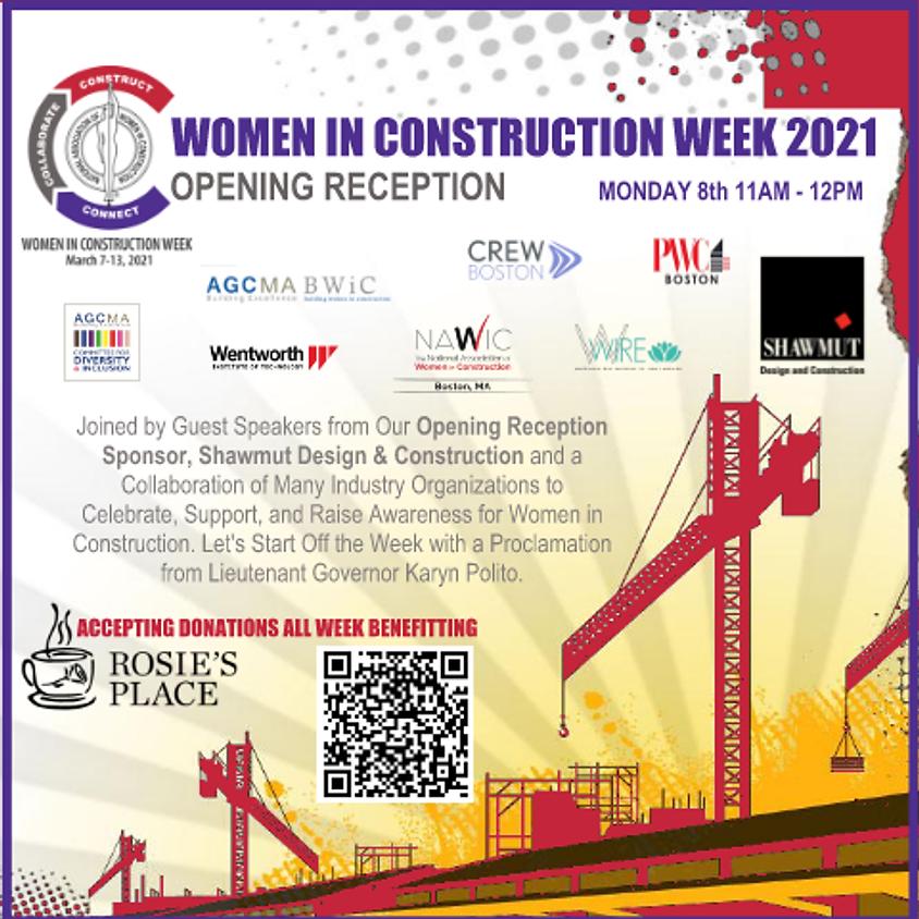 WIC Week Opening Reception