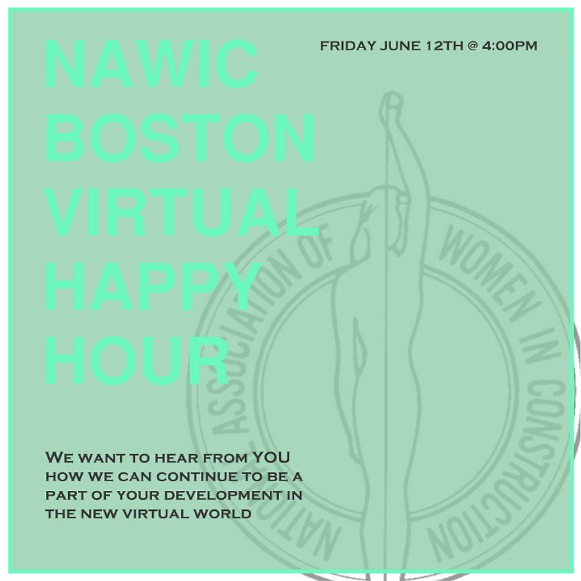NAWIC Boston Virtual Happy Hour