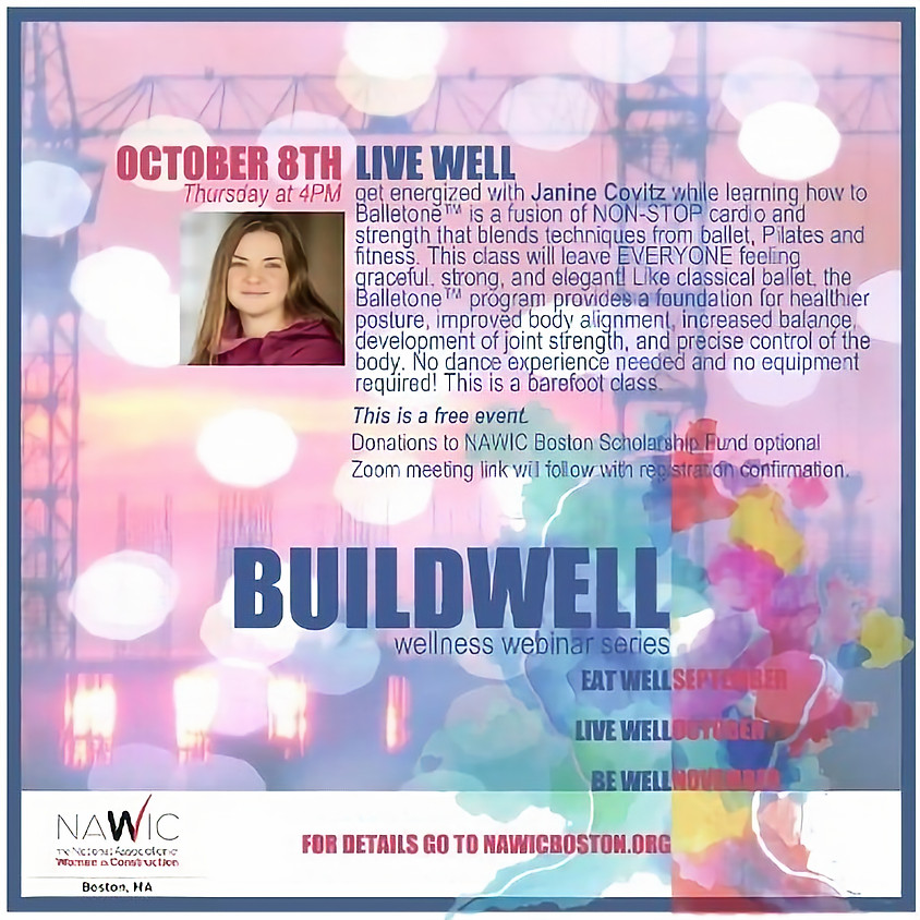 BUILDWELL Wellness Series: Live Well - Fitness Event