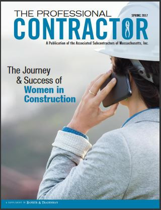 THE PROFESSIONAL CONTRACTOR Spring 2017 Issue