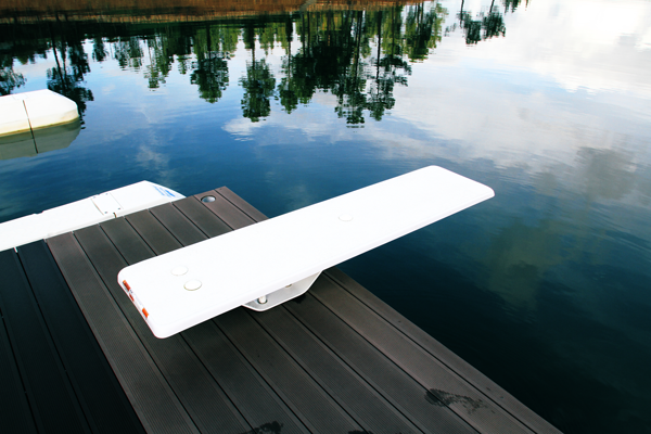 SPRINGBOARD ON THE DOCK
