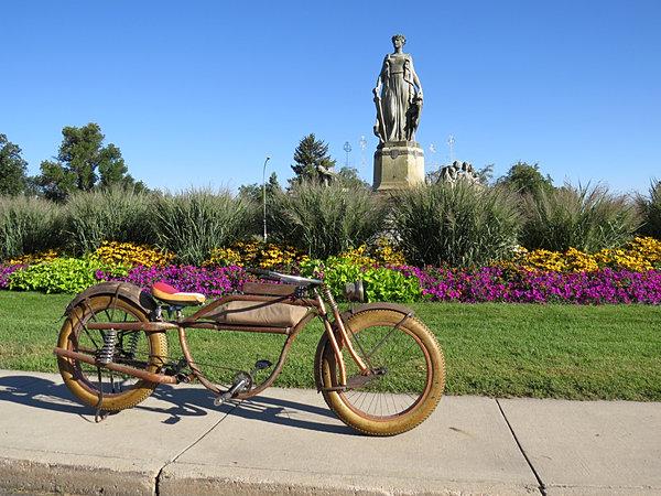 Big Vintage Bicycle Condor Fat Tire Beach Cruiser Bikes