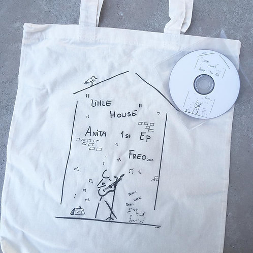Anita's 1st Ep Launch Tote bag