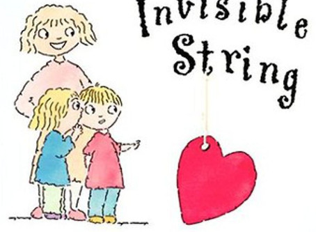 Book of the month! 'The Invisible String'