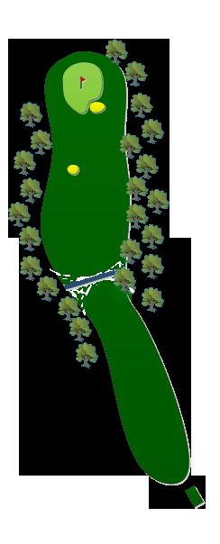 1st Hole