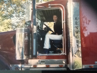 1997 The Writing Truck and Limo Driver begins