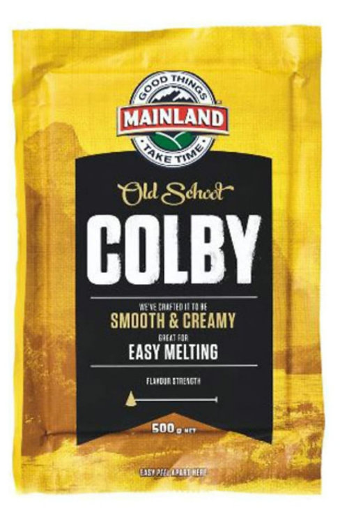 Mainland Colby Cheese - 500g