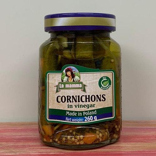 La Mamma - Cornichons in vinegar - 260g