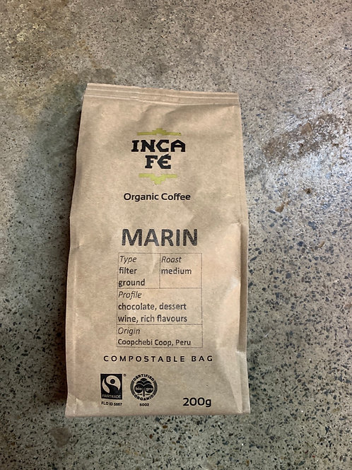 IncaFe - Marin filter geound - 200g