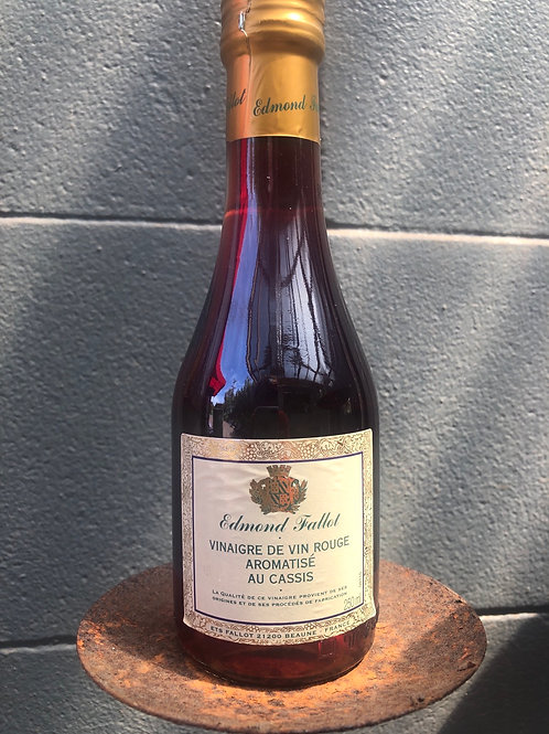 Edmond Fallot - Red Vinaigrette Au Cassis