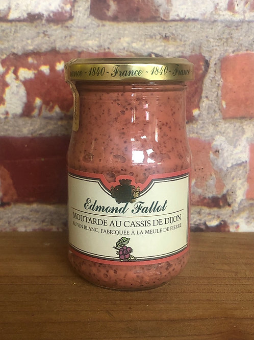 Edmond Fallot Dijon Mustard with Blackcurrant