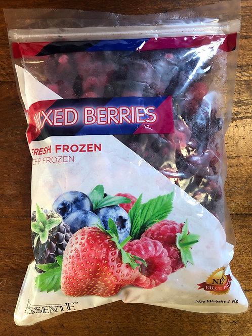 Frozen Mixed Berries - 1kg