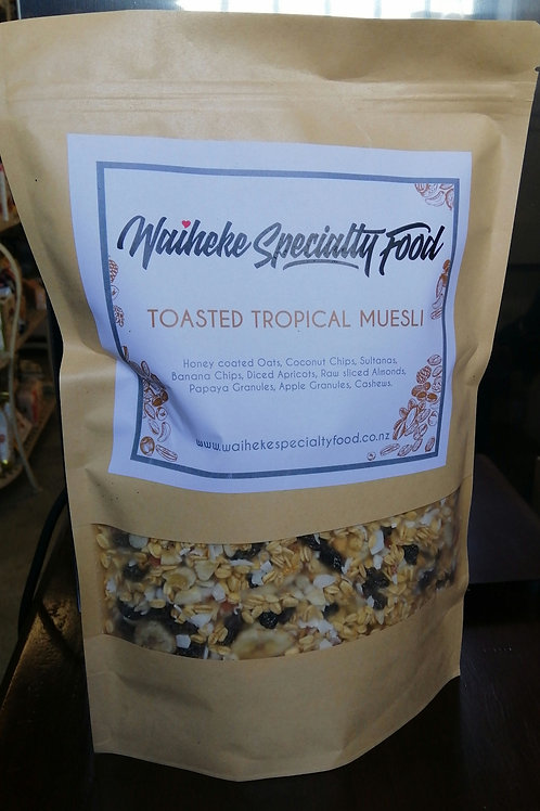 Tropical Toasted Muesli
