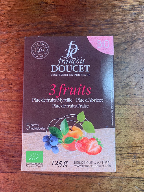 Doucet Organic French jelly 3 fruits