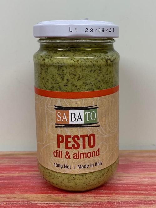 Pesto - dill & almond - 180g