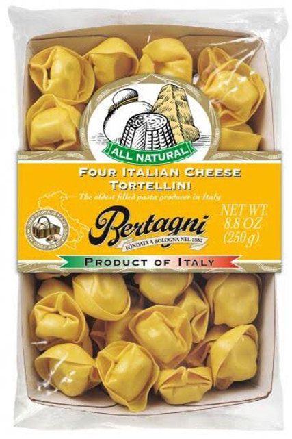Bertagni Fresh Pasta - Four Cheese Tortellini 250g