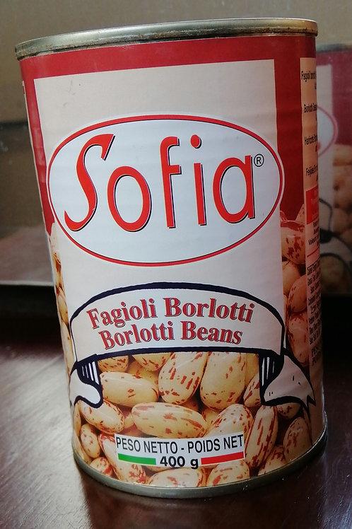 Sofia - Borlotti Beans 400 g