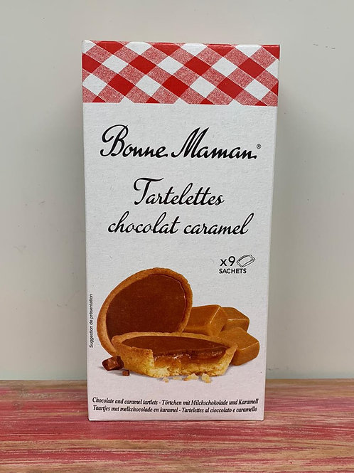 Bonne Maman -Chocolate and caramel tartlets - 125g