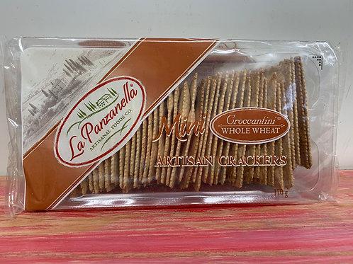 La Panzanella - Mini Artisan crackers - Whole wheat - 170g