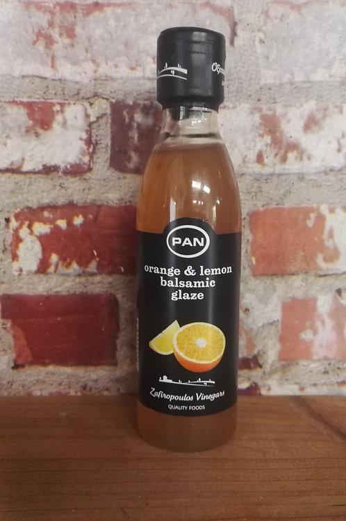 Orange and Lemon Balsamic Glaze