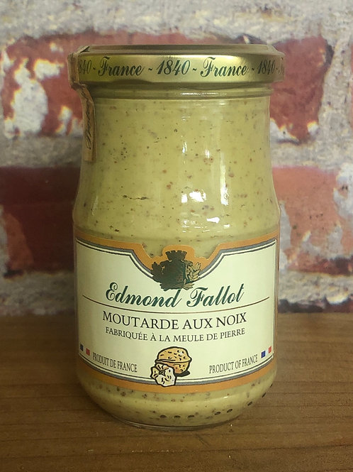 Edmond Fallot Dijon Mustard with Walnut