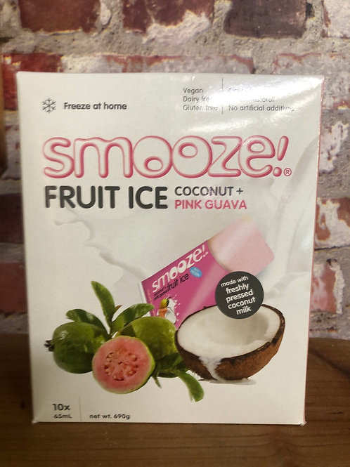 Smooze Fruit Ice - Coconut Pink Guava